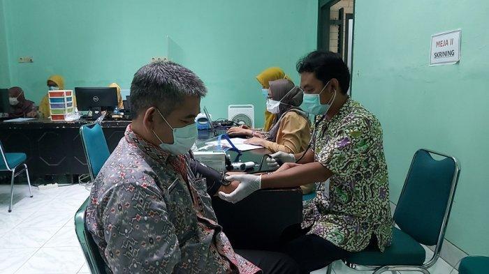 Vaksinasi Tahap Kedua di Kota Tegal, Dinkes: Juga Sasar Lansia, Tanpa Batasan Usia