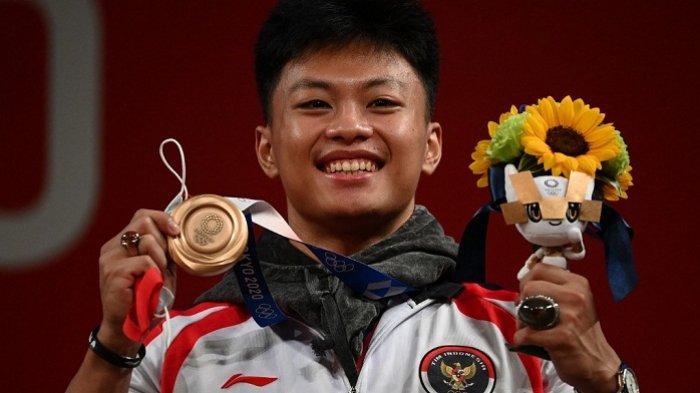 Disumbang Rahmat Erwin Medali Perunggu dari Angkat Besi, Berikut Urutan Indonesia di Olimpiade Tokyo