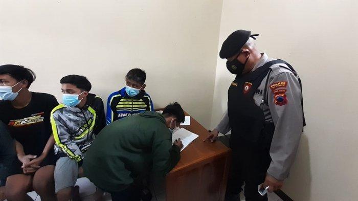 Joki Maupun Penonton Saling Pasang Taruhan, Aksi Balap Liar di JLSS Kebumen, Enam Pemuda Ditangkap