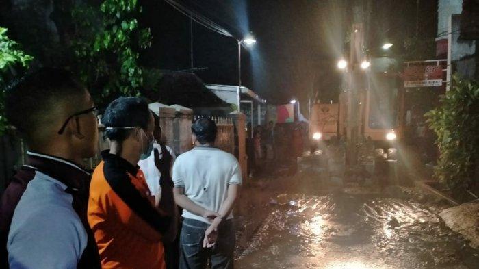 Tanggul Jebol Kali Bajak di Candisari Semarang, Empat Rumah Warga Rusak Parah