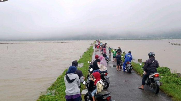 Dataran Tinggi di Banjarnegara Ini Sudah Jadi Langganan Banjir, 195 Hektare Sawah Terendam
