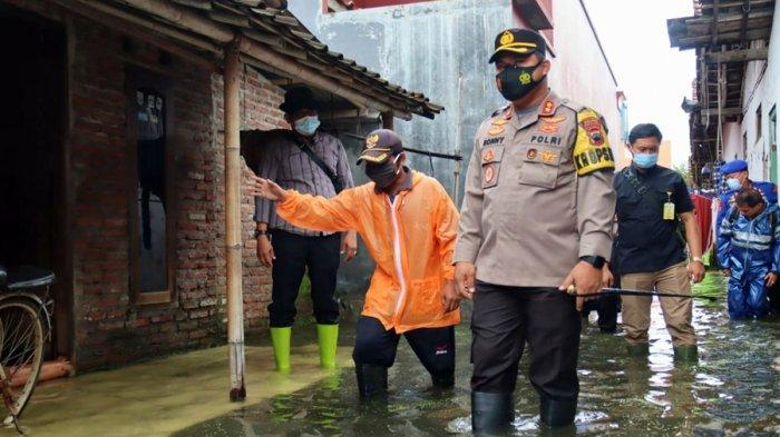 Minimalisir Risiko Banjir, Kapolres Pemalang Berharap Warga Aktifkan Ronda Saat Malam Hari