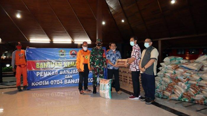Wujud Empati, Pemkab dan Kodim Banjarnegara Kirim Bantuan Buat Warga Terdampak Banjir di Cilacap