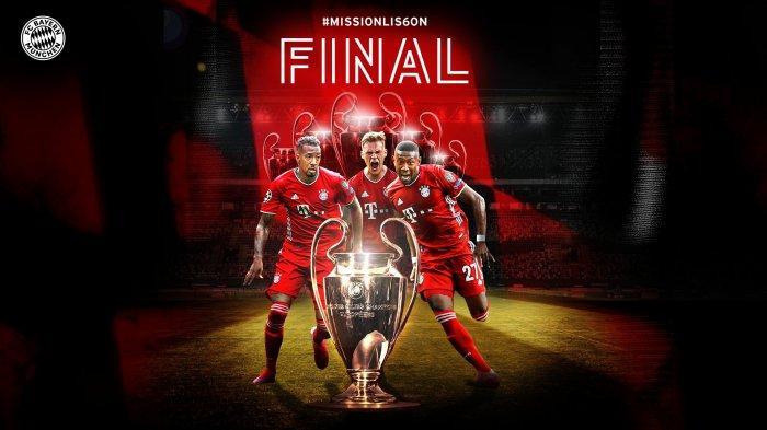 Laga Final Liga Champion PSG Vs Bayern Muenchen Malam Ini di SCTV, Berikut Link Live Streamingnya