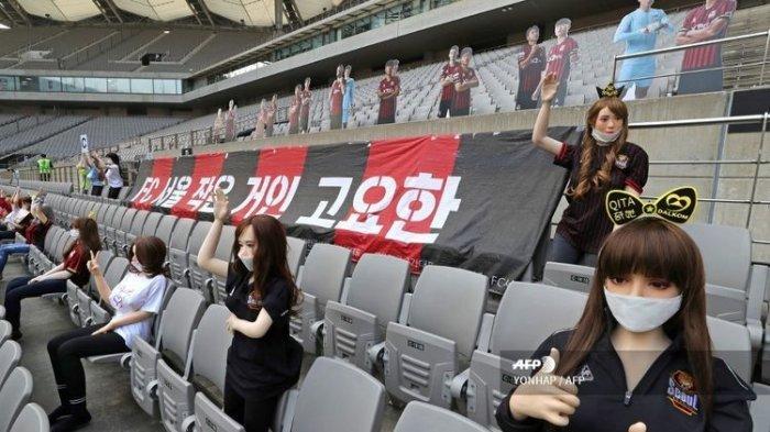 Pajang Boneka Seks di Stadion, Sebagai Ganti Suporter, Klub Liga Korsel Terancam Denda