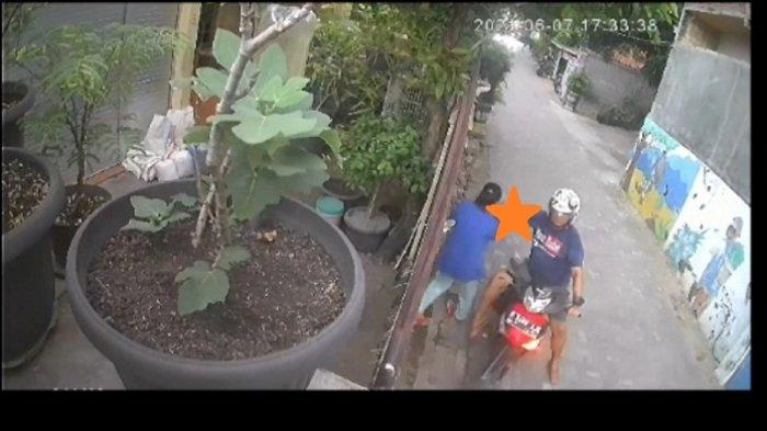 Begal Payudara Teror Warga Pedurungan Semarang, Aksinya Terekam Kamera CCTV