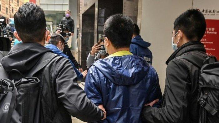 Cegah Peringatan Tiananmen, Polisi Hong Kong Ciduk Aktivis Prodemokrasi