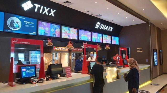Bioskop di Kota Tegal Mulai Beroperasi Hari Ini, Berikut Tata Aturan Bagi Pengunjung