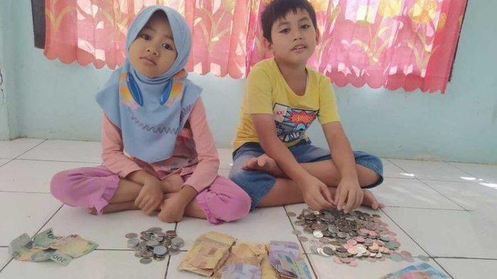 Bocah Sembilan Tahun Ini Bongkar Tabungan, Hasil Sisihkan Uang Jajan, Belikan Kambing Saat Iduladha