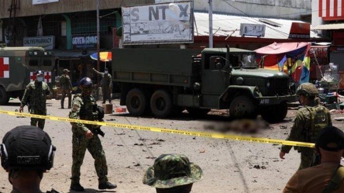 Pengantin Bom Bunuh Diri di Jolo Filipina Diduga Seorang Wanita asal Indonesia
