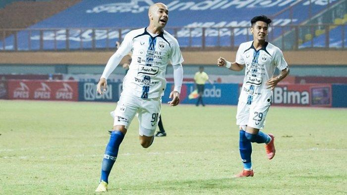 Bruno Silva Berselebrasi di Depan Kamera Seusai Cetak Gol, Berikut Kata Pemain PSIS Semarang Ini