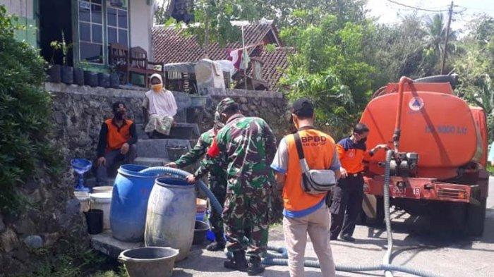 Warga Desa Karangpucung Cilacap Mulai Alami Kekeringan dan Minta Bantuan Air Bersih