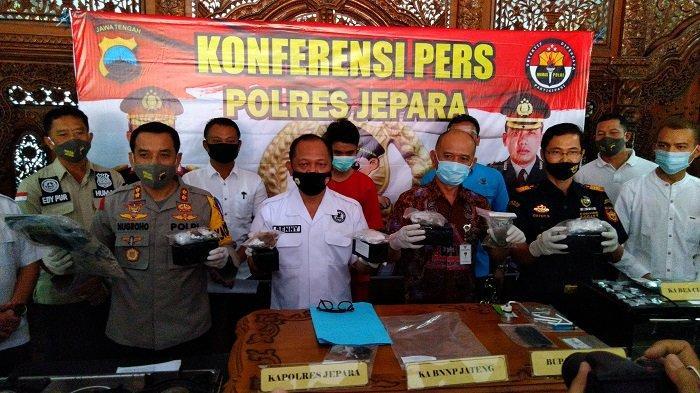 Mengolah Ganja Menjadi Brownies, Pemuda di Jepara Ditangkap Polisi