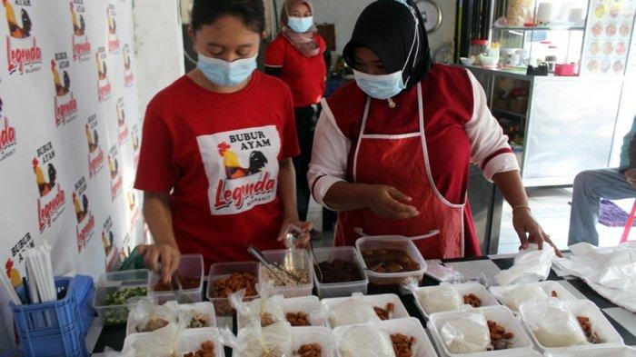 Salut Buat Pak Romeo, Gratiskan Bubur Ayam Buat Warga Semarang yang Jalani Isolasi Mandiri