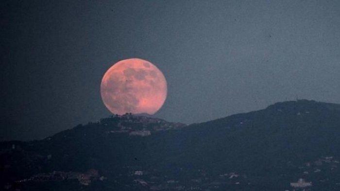 Jangan Lewatkan! Gerhana Bulan Total Bisa Dinikmati Petang Ini, Mulai Pukul 18.18 WIB