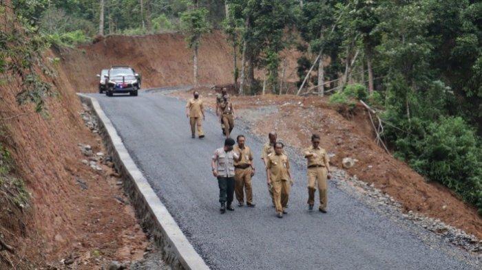 Di Tengah Pandemi Covid-19, Pemkab Banjarnegara Rampungkan Proyek Jalan di 4 Kecamatan