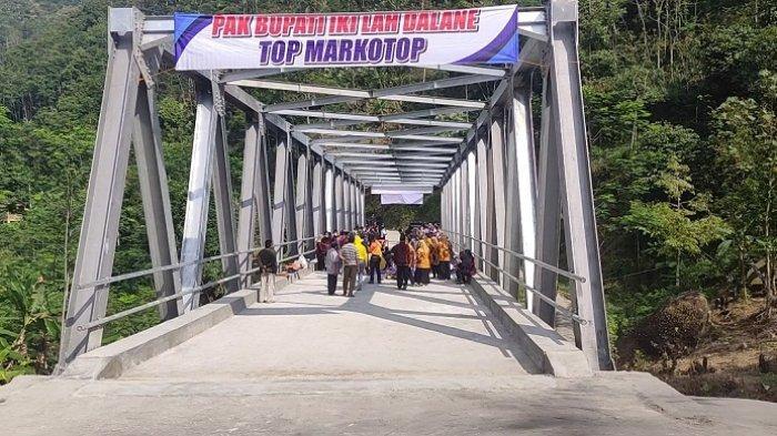 Bupati Banjarnegara Resmikan Jembatan Plipiran: Dari Tahun 1945, Baru Kali Ini Warga Merdeka