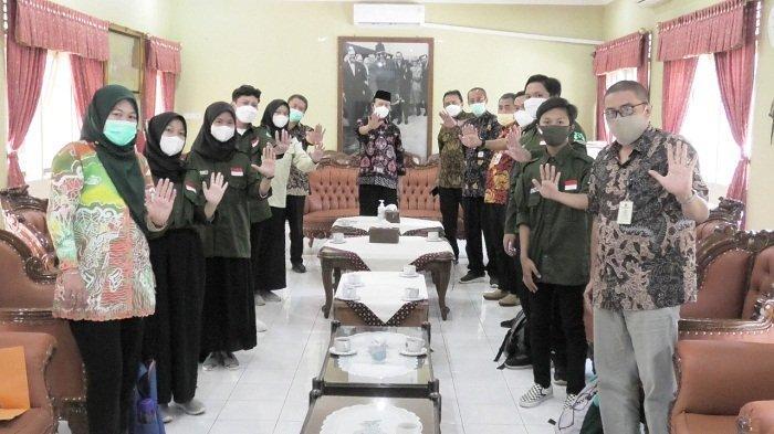 Bertemu Bupati, Ini yang Disampaikan Forum Anak Banyumas dalam Upaya Terlibat Pembangunan