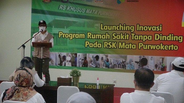 Bupati Banyumas Luncurkan Rumah Sakit Tanpa Dinding di RSK Mata Purwokerto: RS yang Cari Warga Sakit