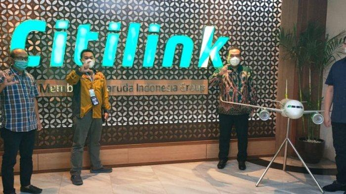 Lobi Citilink, Bupati Blora Arief Rohman Berharap Ada Penerbangan Blora-Jakarta saat Lebaran