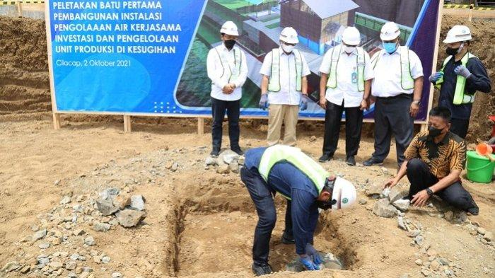 Perumda Tirta Wijaya Cilacap Bangun IPA Baru, Hasilkan 110 liter Air Per Detik