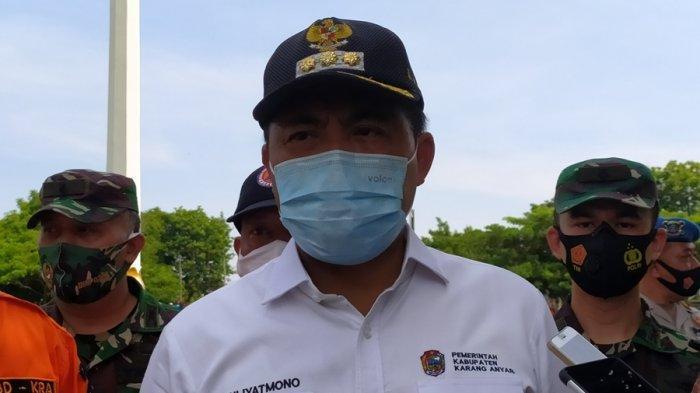 Juliyatmono Usul Pemberlakuan PSBB se Jateng, Ini Alasan Bupati Karanganyar