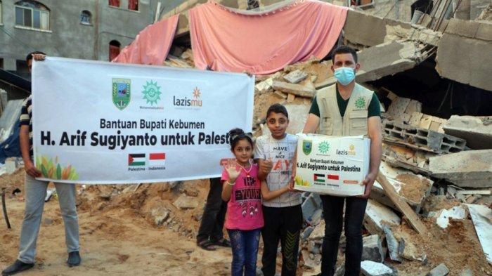 Arif Sugiyanto Kembali Jadi Buah Bibir, Bupati Kebumen Sumbang Rp 100 Juta Buat Warga Palestina