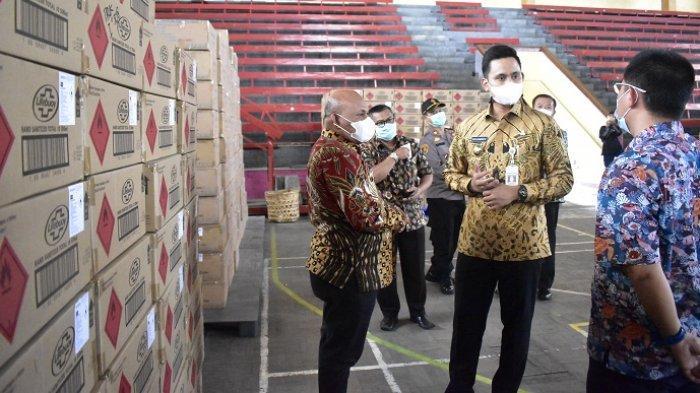Dapat Hand Sanitizer-Masker dari Singapura, Pemkab Kendal Prioritaskan Sekolah dan Layanan Publik