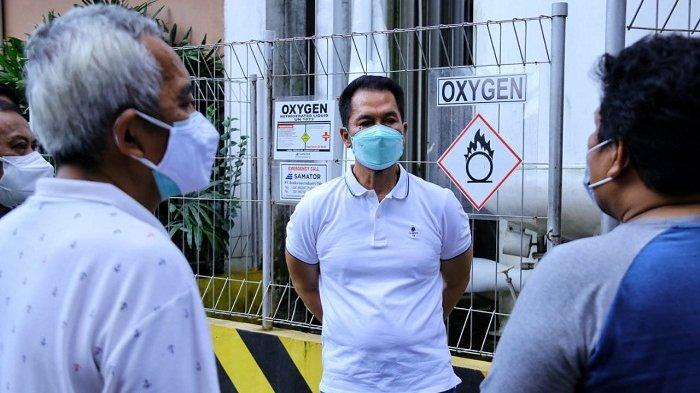 Bupati Pastikan Stok Oksigen di Rumah Sakit di Kudus Aman