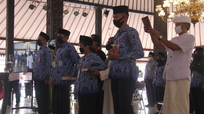 393 CPNS Di Kabupaten Purbalingga Diambil Sumpah