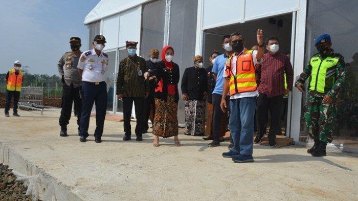 Tenda Terminal Sementara Terpasang, Bupati Purbalingga Optimistis Bandara JB Soedirman Dibuka 1 Juni