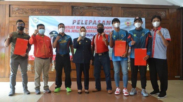 Bupati Purbalingga Lepas 4 Atlet ke PON dan Peparnas Papua: Tidak Perlu Terbebani, Beri yang Terbaik