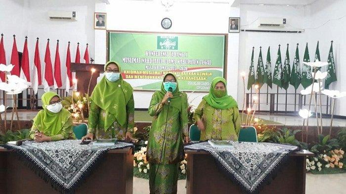 Terpilih secara Aklamasi, Umi Azizah Jadi Ketua PC Muslimat NU Kabupaten Tegal Periode 2021-2026