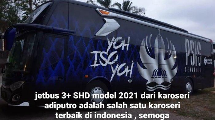Ini Jadwal Launching Bus Anyar Tim PSIS Semarang, Sekarang Sedang Test Drive di Malang