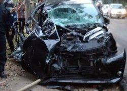 Camat Karangsambung Kecelakaan di Jalan Sruweng Kebumen, Mobil Dinas Remuk, Begini Kronologinya