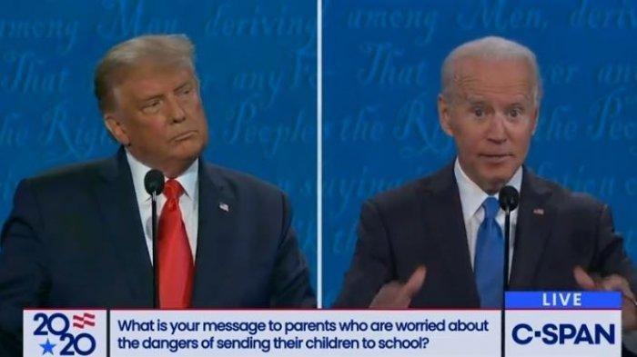 Debat Final Capres AS: Ini Perbedaan Sikap Donald Trump dan Joe Biden Terkait Lockdown Covid-19