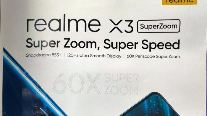 Realme X3 Super Zoom Turun Harga, Berikan Cashback Sampai Rp 1 Juta