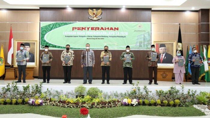 Selamat, Cilacap Raih Penghargaan WTP Kelima dari BPK