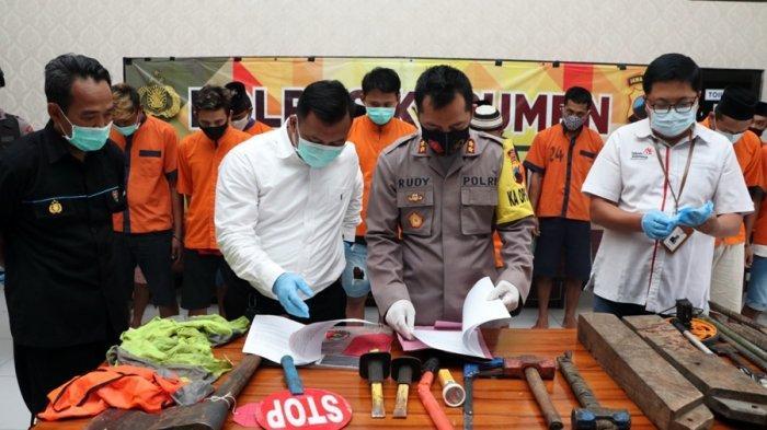Kawanan Spesialis Pencuri Kabel Telkom Tertangkap di Kebumen, Begini Cara Mereka Beraksi