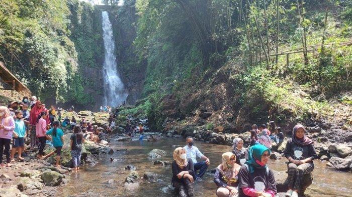 Curug Orak Arik Memikat Hati Istri Bupati Banyumas, Destinasi Wisata Baru di Baturraden