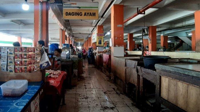 Pedagang Pasar Projo Ambarawa Protes, Jam Buka Pasar Dibatasi Sampai Pukul 12.00 WIB