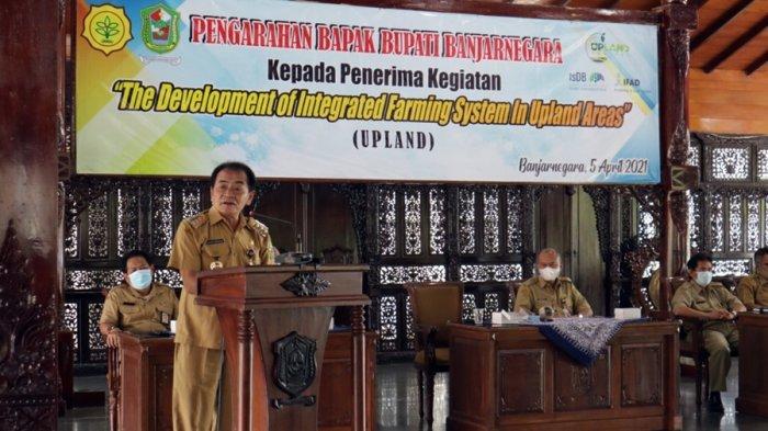 23 Desa Terima Dana Hibah Upland, Bupati Banjarnegara: Gunakan Secara Cermat, Jangan Dikorupsi