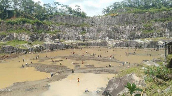 Dikuras, Danau Tampomas di Pagedongan Banjarnegara Ditutup Sementara untuk Wisatawan