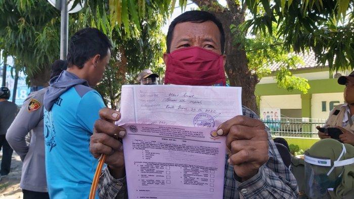 Terjaring Razia Masker di Kota Tegal, Somad Pasrah Didenda Rp 100 Ribu