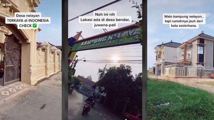 Wow, Kampung Nelayan di Bendar Juwana Pati Diisi Deretan Rumah Gedong. Begini Cerita Para Nelayan
