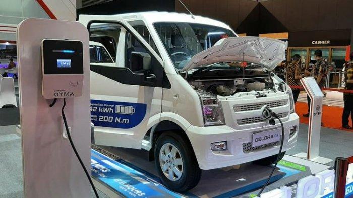 DFSK Buka Pemesanan Perdana Mobil Listrik Gelora E, Minibus atau Blind Van, Segini Harganya