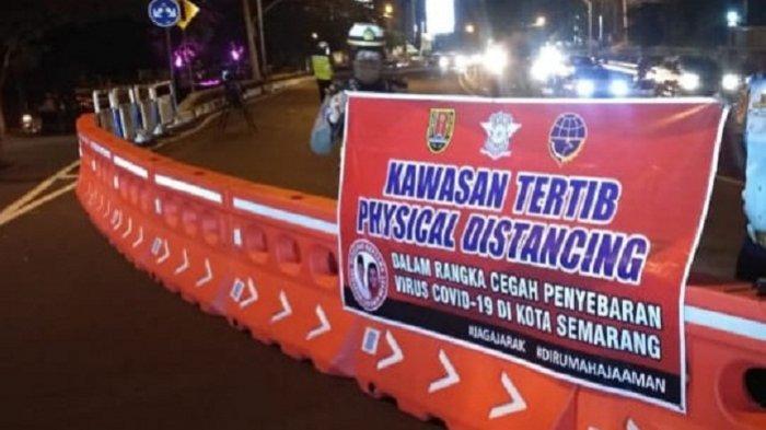 Batasi Mobilitas Warga, Pemkot Semarang Tutup 8 Ruas Jalan Selama 2 Pekan. Ini Lokasinya
