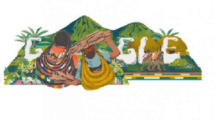 Google Rayakan Noken dalam Bentuk Doodle, Begini Filosofi Tas Asli Papua Tersebut