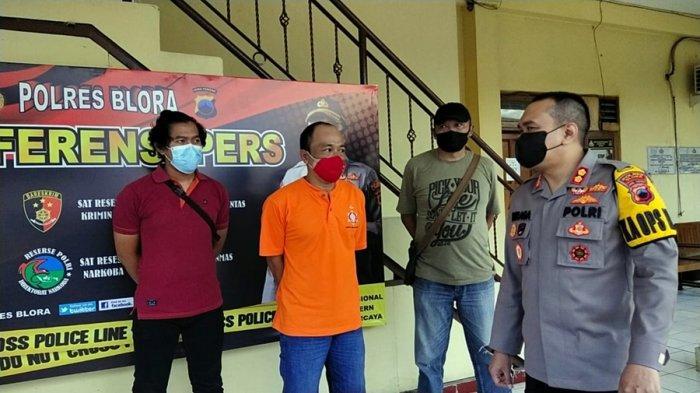 Warga Pecangaan Jepara Ini Ditangkap, Sempat Jadi Buronan Polres Blora, Pengembangan Kasus Narkoba