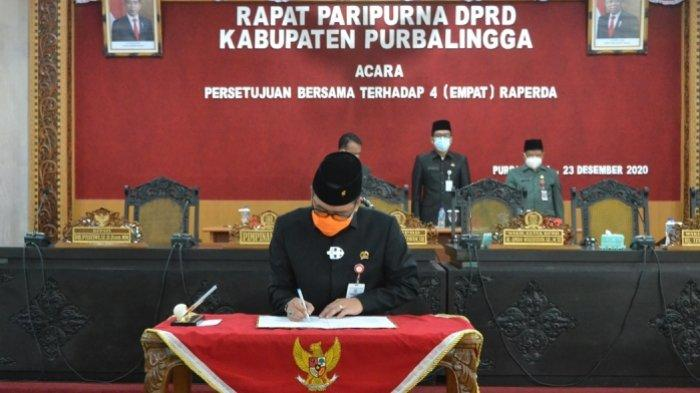 DPRD dan Pemkab Purbalingga Sepakat Tetapkan 4 Perda, Disiplin Warga Soal Prokes Mulai Diatur